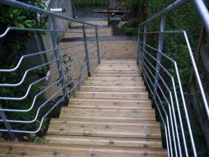 escalier exterieur 3